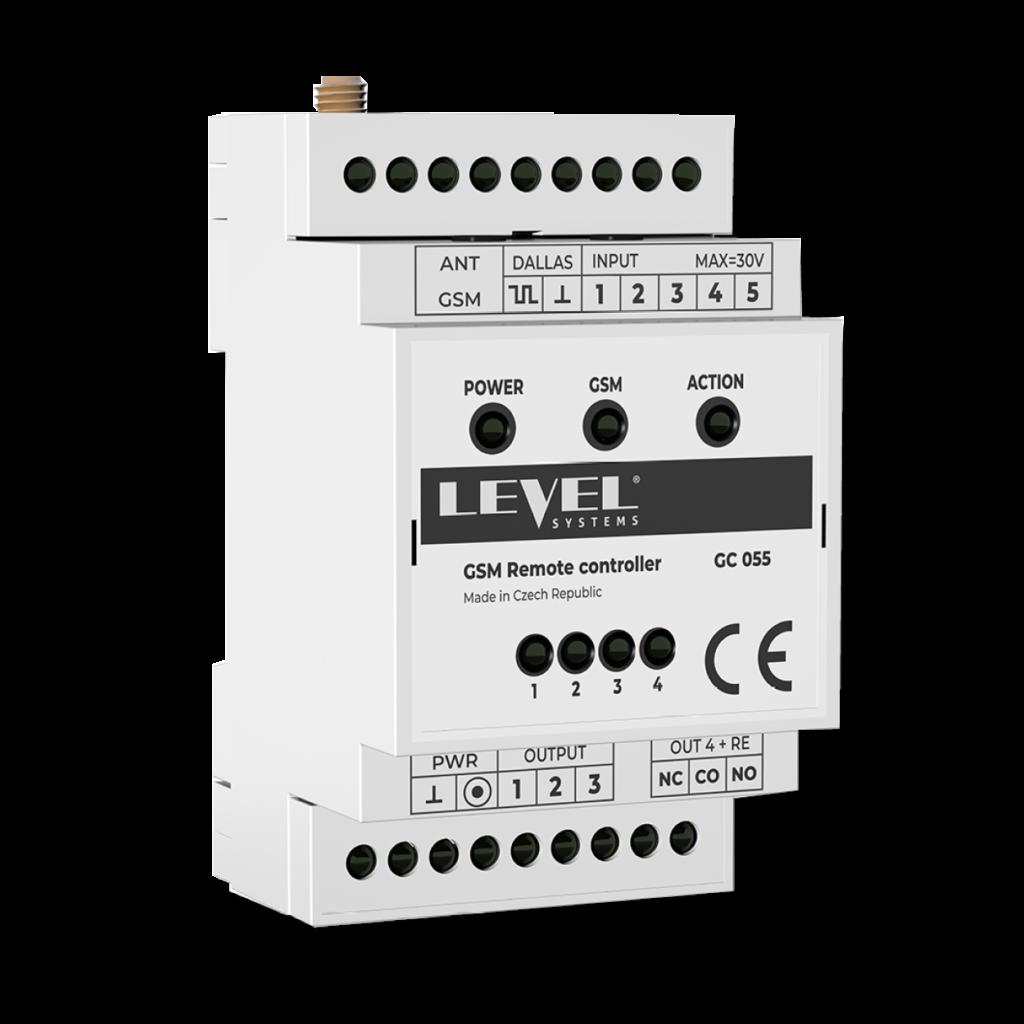 GSM řídící jednotka do domu pro dálkové ovládání z mobilu