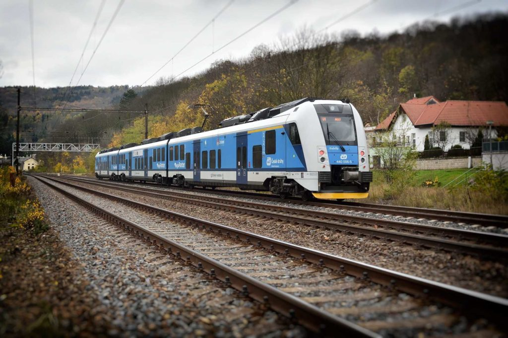 vlak ČD cargo