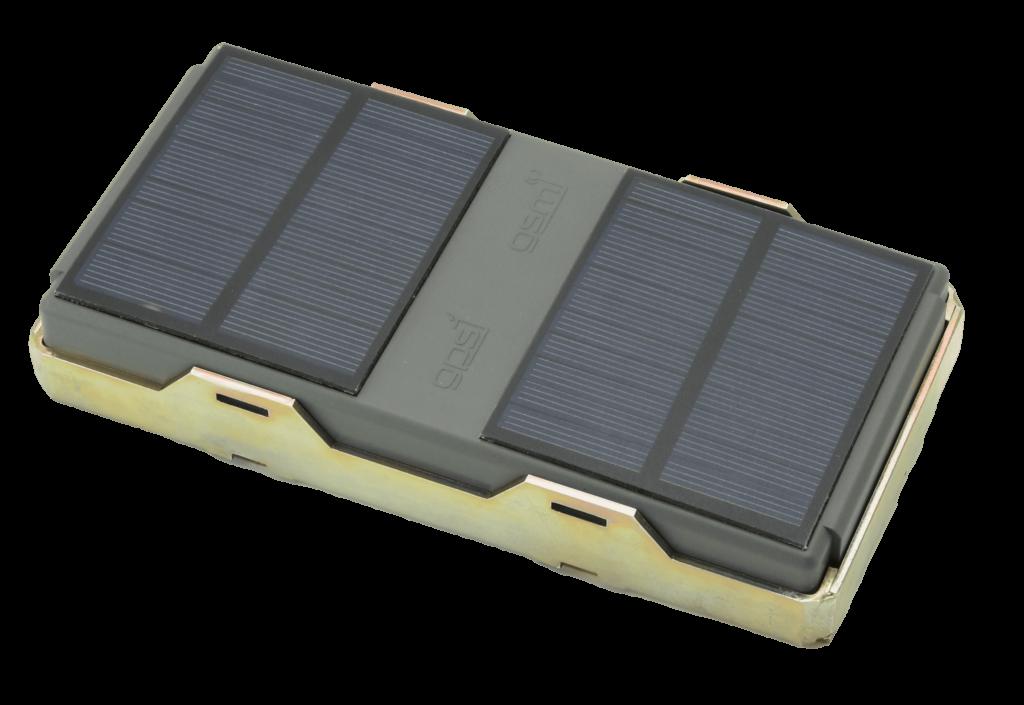 Solární bateriový lokátor
